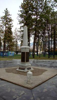 Lions Park Cenotaph