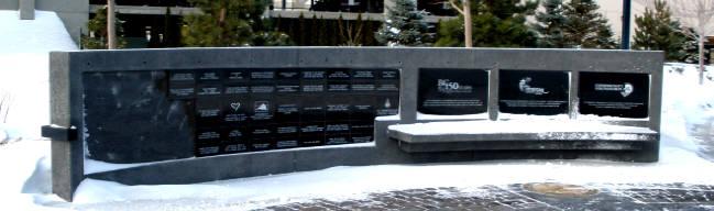 Donation wall Penticton BC
